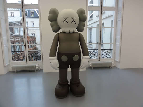 "KAWS ""Pay the Debt to Nature"" PARIS Solo Show"