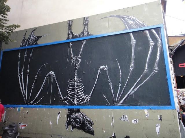 ROA New Mural In Paris, France