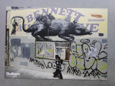 "Roa ""Transit"" New Solo Show, Berlin July 9th"