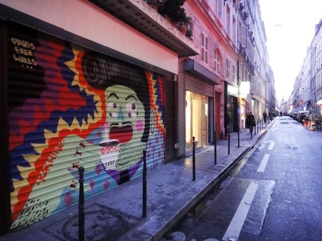 Kashink New Mural In Paris