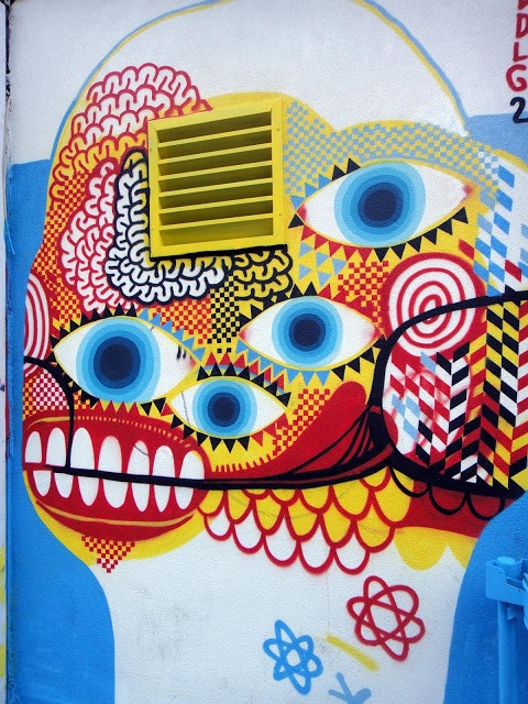 David Shillinglaw New Mural In Paris