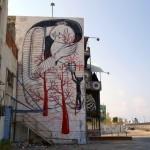 Klone creates his Sleeping Beauty in Haifa, Israel