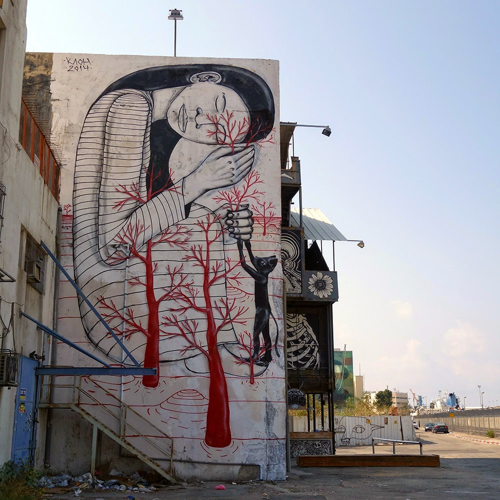 Klone creates his Sleeping Beauty in Haifa, Israel