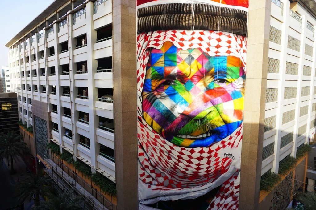 "Kobra creates ""The Bedouin"", its latest piece in Dubai, UAE"