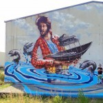 Fintan Magee New Street Art – Coffs Harbour, Australia