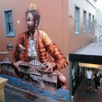 Fintan Magee New Street Art For Wonder Walls Festival – Wollongong, Australia