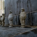 "Isaac Cordal ""We Need More Police In The Streets"" New Installation In Brussels, Belgium"
