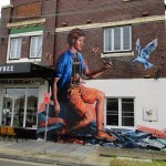 Fintan Magee New Mural For The Multi-Viral Project – Enmore, Sydney