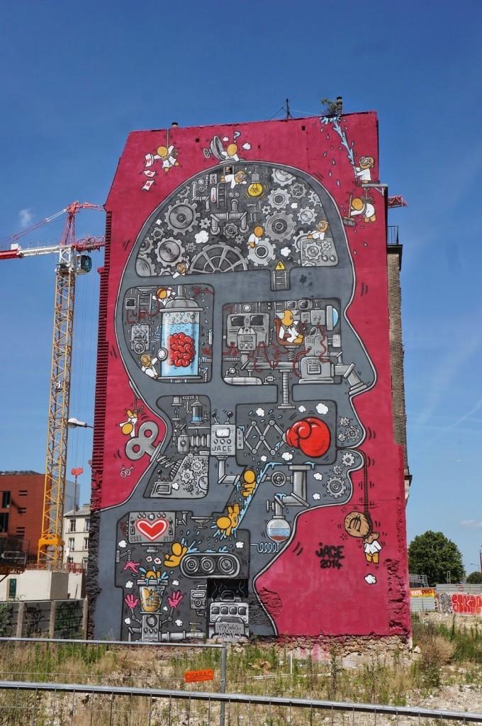 JACE New Mural – Paris, France