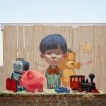Etam Cru New Mural For Memorie Urbane – Gaeta, Italy