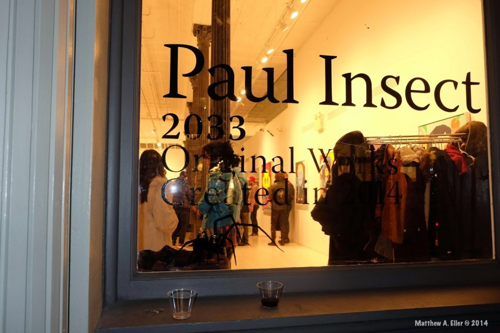 "Coverage: Paul Insect ""2033 Original Works"" Exhibition @ NYC's Allouche Gallery"