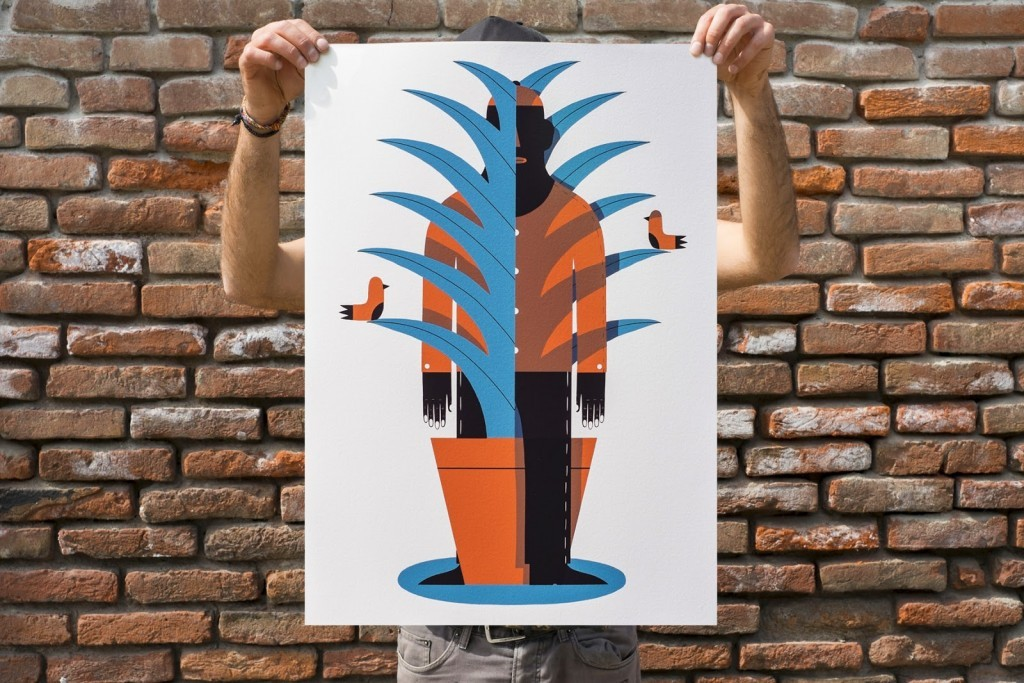 "Agostino Iacurci ""Appearance And Disappearance"" Limited Edition Screen Print – Available April 21st"