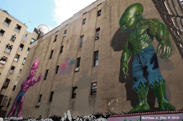 Coverage: The LoMan Art Festival in Little Italy NYC Feat. Invader, Ron English, Hanksy, ASVP, Beau Stanton, BD White X JPO, Dain X Stikki Peaches, Whisbe, GILF!, Art is Trash, and Many More.