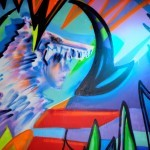 Elle Street Art creates three new murals at Lit Lounge in the Lower East Side, New York City