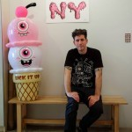 Buff Monster – Interview, Studio Visit, New Print & Ice Cream Inflatable Release