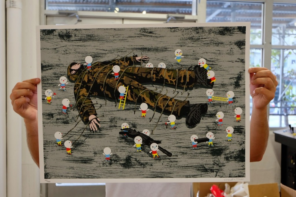 "Icy & Sot + Sonni – ""Gulliver's Travels"" – Print Release – Under The Bridge Gallery – Brooklyn, NYC & Online"