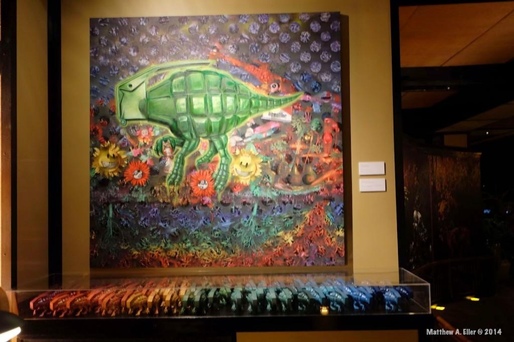 "Coverage: Ron English ""EVOLUTIONARY ALTERNATIVES""  @ Tribeca Grand Hotel – NYC"