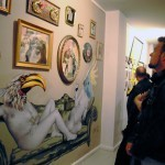 """VinZ New Installation For """"URBANOTIPOS"""" Group Show In Valencia, Spain"""
