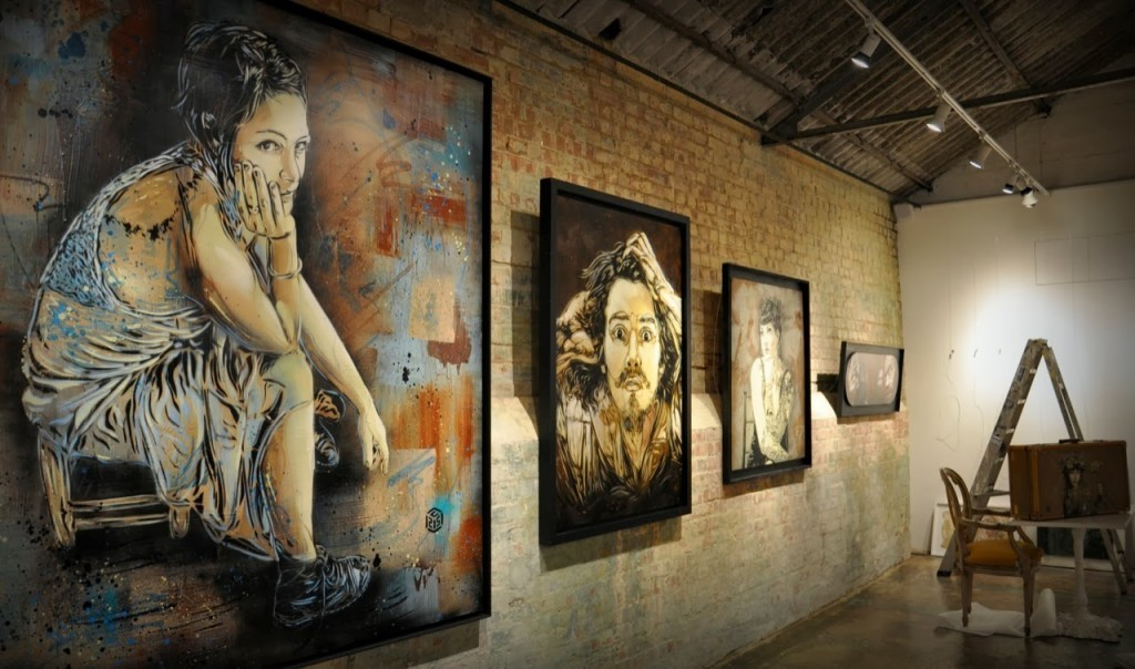 "Preview: C215 ""Back To Black"" @ London's StolenSpace"
