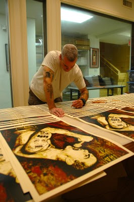Shepard Fairey 'Henry Rollins' New Print Sneak Peak