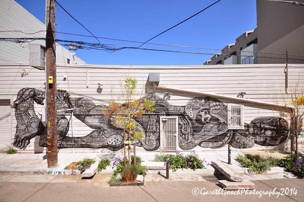 Zio Ziegler New Mural – San Francisco, USA