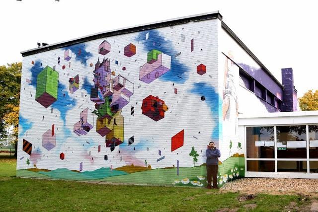 Etnik New Mural - Dusseldorf, Germany