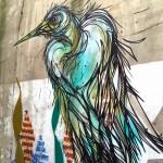 DZIA paints a new piece in Waver, Belgium