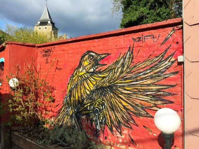 DZIA unveils a new street piece in Wavre, Belgium