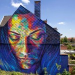 David Walker New Mural For Day One Festival – Roeselare, Belgium