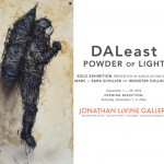 "DALeast ""Powder Of Light"" New York Solo Show December 1st"