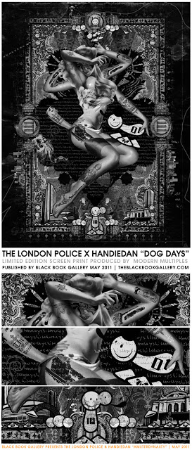 "The London Police x Handiedan ""Dog Days"" New Print Coming Soon"