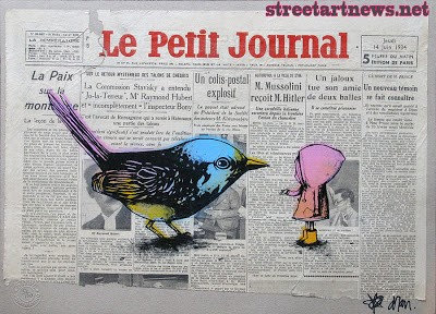 Dran 'Learning To Fly' New Print