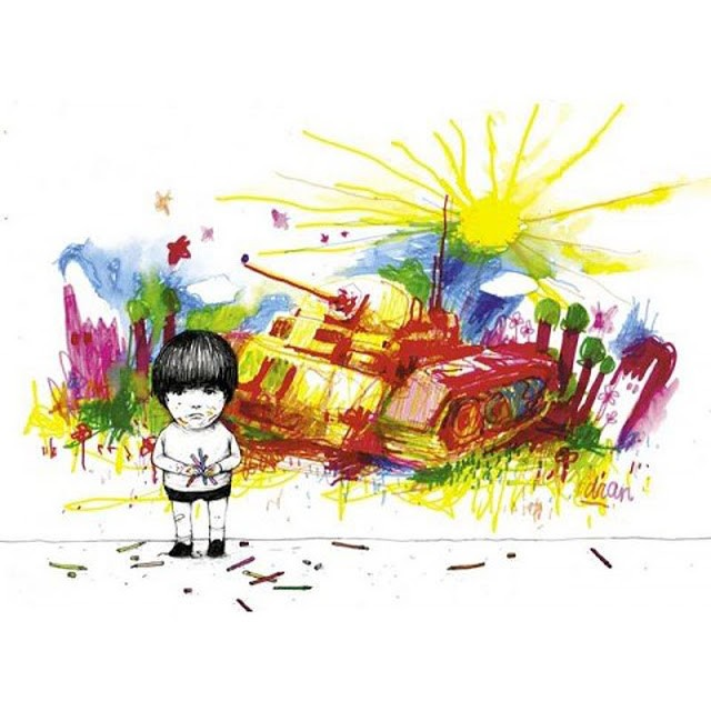 """Dran """"Le Char"""" Print Available Now"""