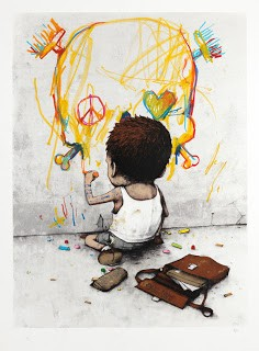Dran 'I Have Chalks' Limited Edition Prints