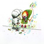 """Dran """"I Love You"""" New Print Available Now"""