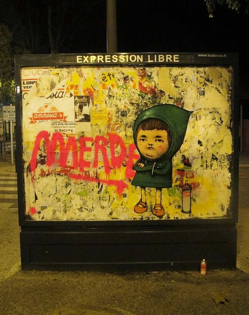 Dran New Street Piece In Toulouse, France