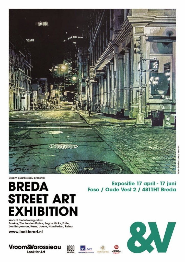 Preview: Breda Street Art Exhibition, Netherlands