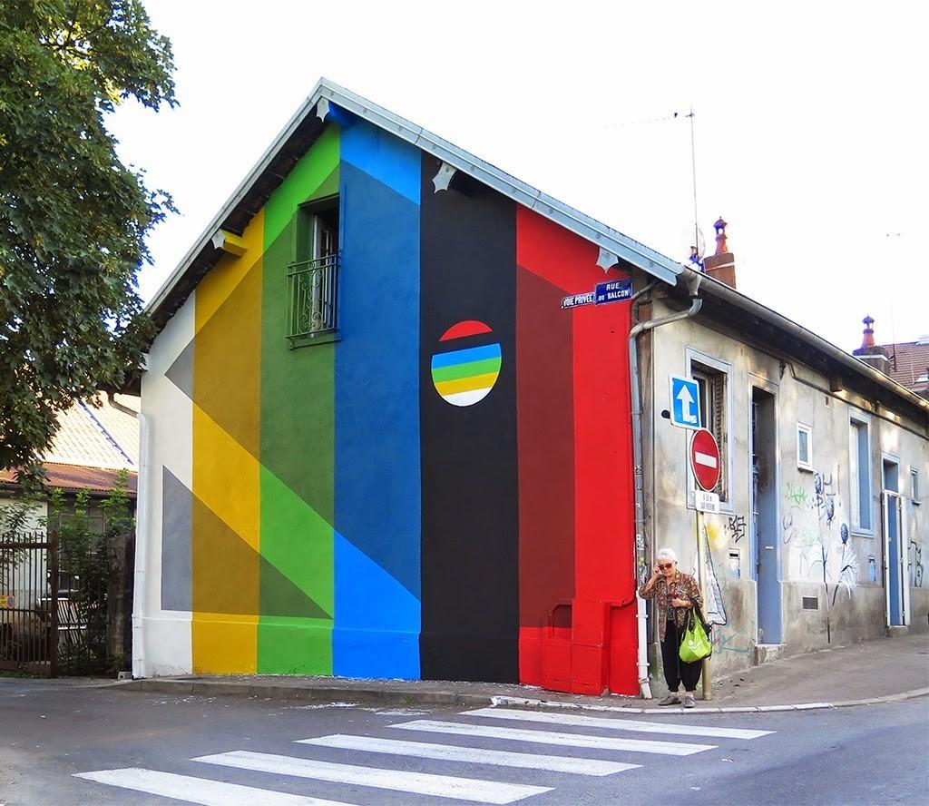 Elian New Mural – Besancon, France