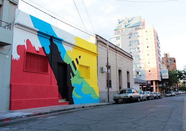 "Elian ""Neuralgic Point"" New Mural – Cordoba, Argentina"
