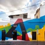 Elian creates a new mural for Board Dripper in Queretaro, Mexico