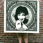 Shepard Fairey 3 New Large Format Album Print Available 28th April