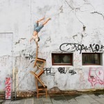 Ernest Zacharevic New Installation For Nuart '13 In Stavanger, Norway