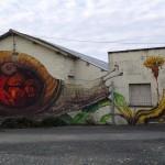 Ericailcane x Bastardilla New Murals For Le 4eme Mur – Niort, France