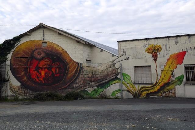Ericailcane x Bastardilla New Murals For Le 4eme Mur - Niort, France