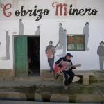 """Escif """"Cobrizo Minero"""" New Mural In Cerro de Pasco, Peru"""