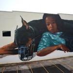 Evoca1 creates a new mural in Saint Petersburg, Florida