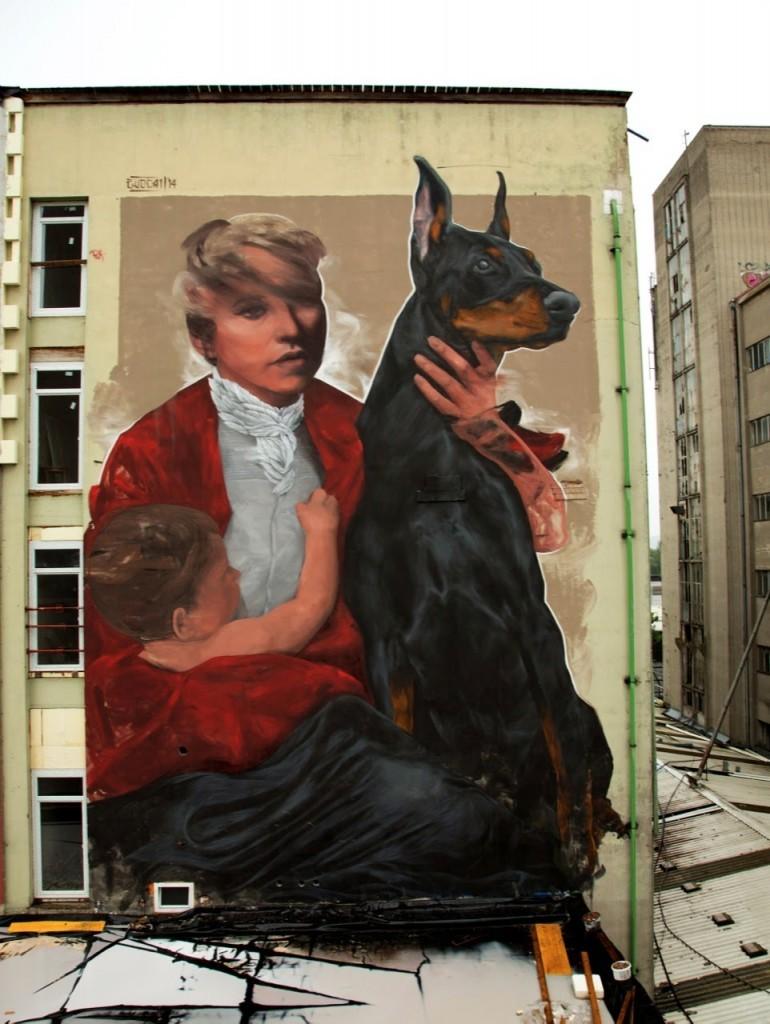 Evoca1 New Mural – Graz, Austria