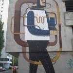Agostino Iacurci New Mural in Zagreb, Croatia