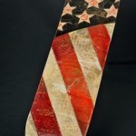 "Shepard Fairey ""Flag"" HPM Skate Deck Charity Auction"