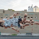 James Bullough creates a new piece for the Richmond Mural Project